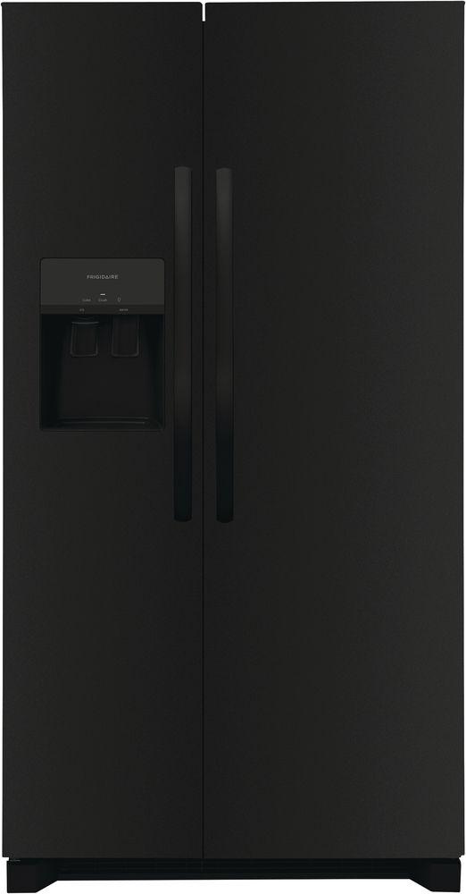 Frigidaire® 25.6 Cu. Ft. Black Side-by-Side Refrigerator-FRSS2623AB