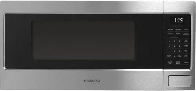 Monogram® Countertop Microwave Oven-Stainless Steel-ZEM115SJSS