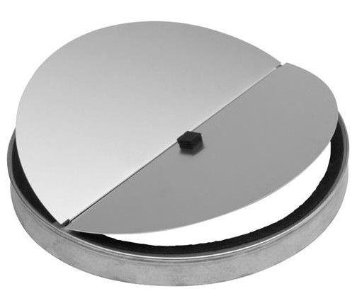 """Best® 10"""" Galvanized Steel Transition Damper-421"""