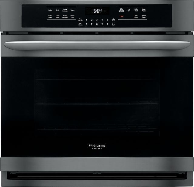 """Frigidaire Gallery® 30"""" Black Stainless Steel Electric Single Oven Built In-FGEW3066UD"""