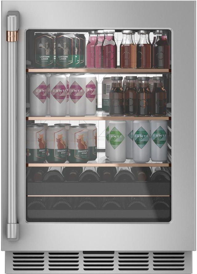 Café™ 5.1 Cu. Ft. Stainless Steel Frame Beverage Center-CCP06BP2PS1