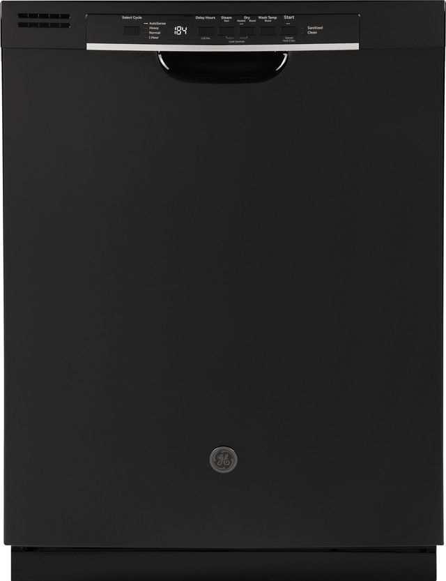 "GE® 24"" Built In Dishwasher-Black-GDF530PGMBB"