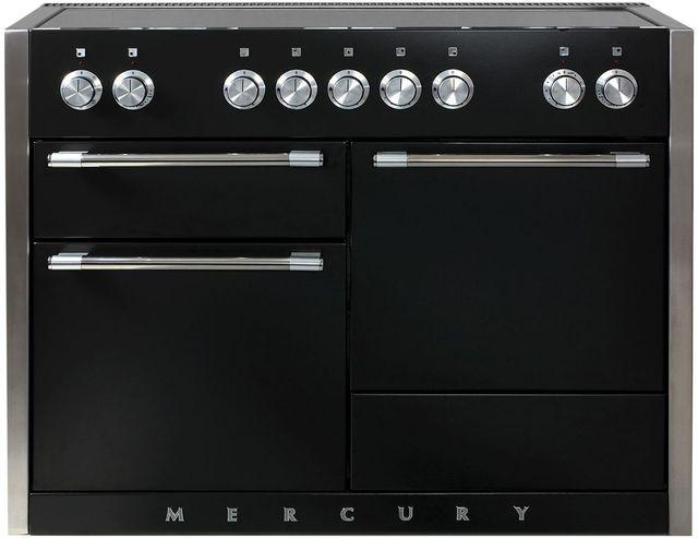 "AGA Mercury 48"" Matte Black Electric Induction Range-AMC48IN-MBL"