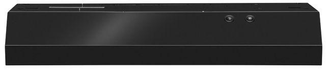 "Whirlpool® 29.94"" Black Under Cabinet Range Hood-WVU17UC0JB"