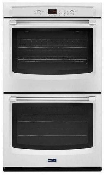 """Maytag 27"""" Electric Double Oven Built In-White-MEW7627DH"""