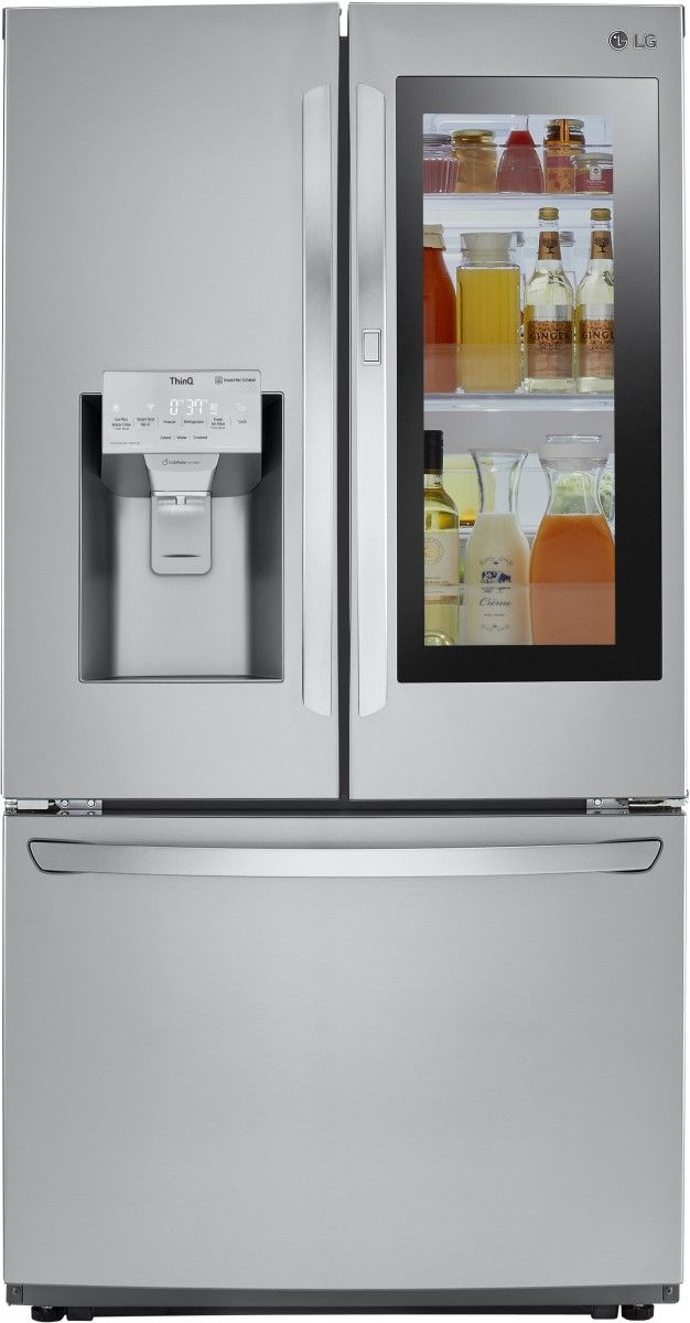 LG 26 Cu. Ft. Stainless Steel French Door Refrigerator-LFXS26596S