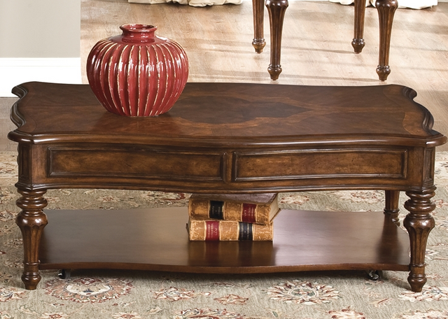 Liberty Furniture Andalusia Vintage Cherry Cocktail Table-259-OT1010