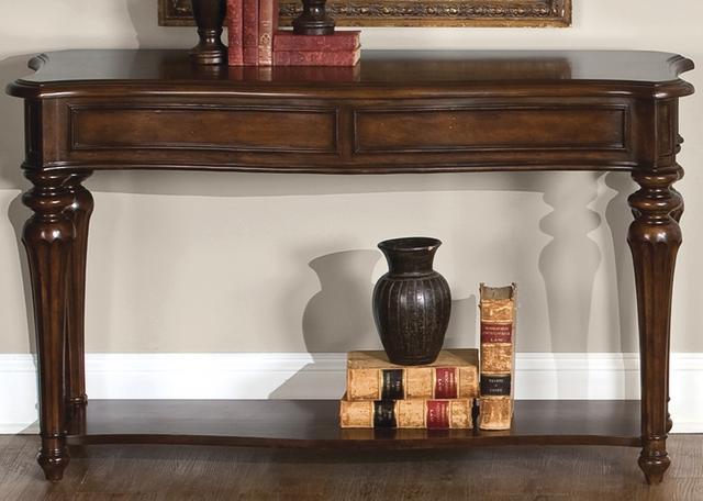 Liberty Furniture Andalusia Vintage Cherry Sofa Table-259-OT1030