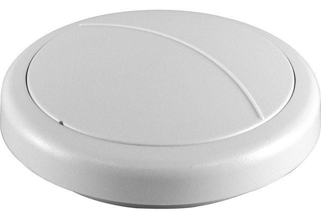 Crestron® Battery-Powered infiNET EX® 2-button Wireless Keypad-HTT-B2EX-BATT-W-T