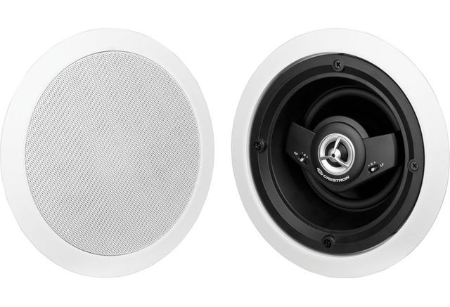 """Crestron® Excite® 5.25"""" 2-Way In-Ceiling Speakers-EXCITE IC5-W-T"""