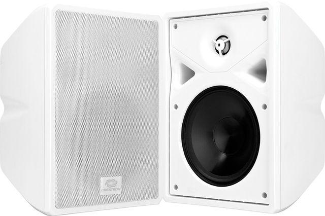 """Crestron® Saros® 6.5"""" 2-Way Surface Mount Indoor/Outdoor Speaker-White-SAROS SR6T-W-T-EACH"""