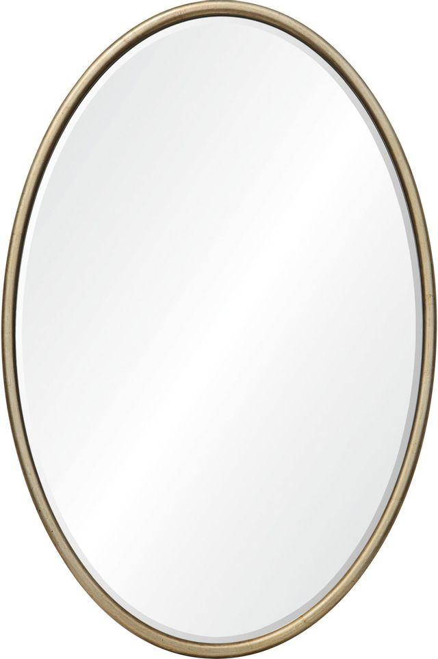 Miroir mural Sablon, champagne leaf, Renwil®-MT2387