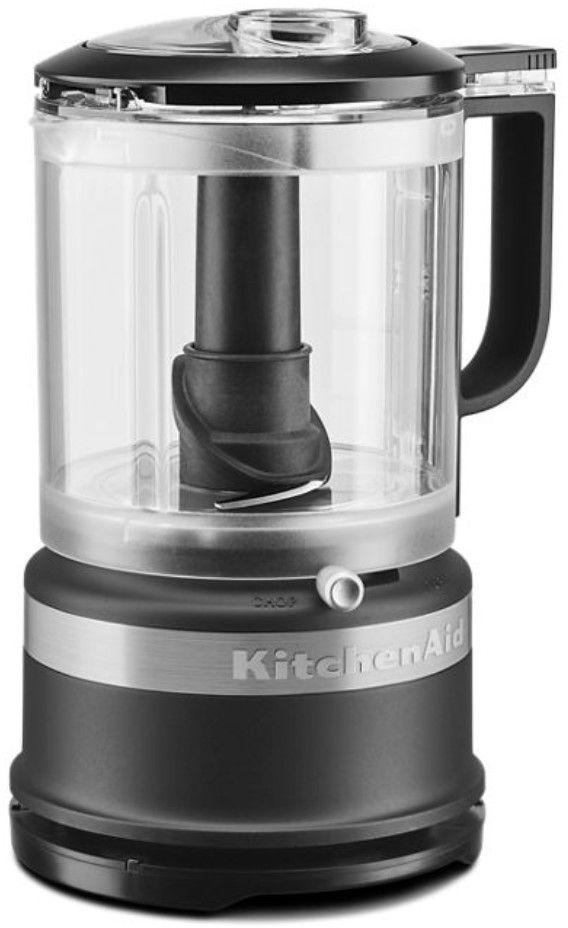 KitchenAid® 5 Cup Black Matte Food Chopper-KFC0516BM