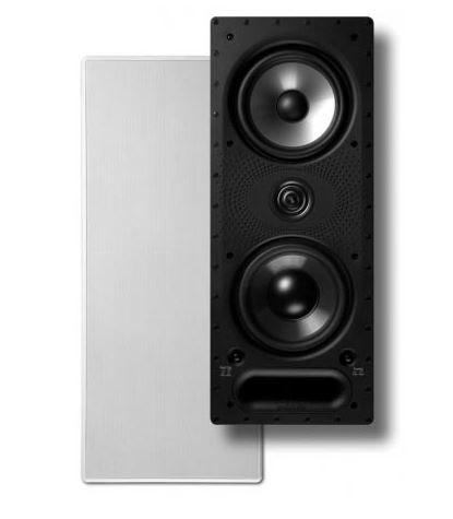 """Polk Audio® Vanishing LS Series 265-LS Dual 6.5"""" In-Wall Speaker-AW7265"""