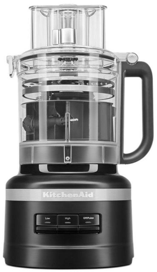 KitchenAid® 13 Cup Black Matte Food Processor-KFP1318BM