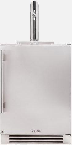 """True® 24""""-Stainless Steel Beer Cooler/Kegerator-TUR-24BD-R-SS-B"""