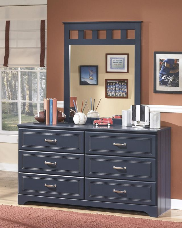 Signature Design by Ashley® Leo Blue Youth Bedroom Mirror-B103-26