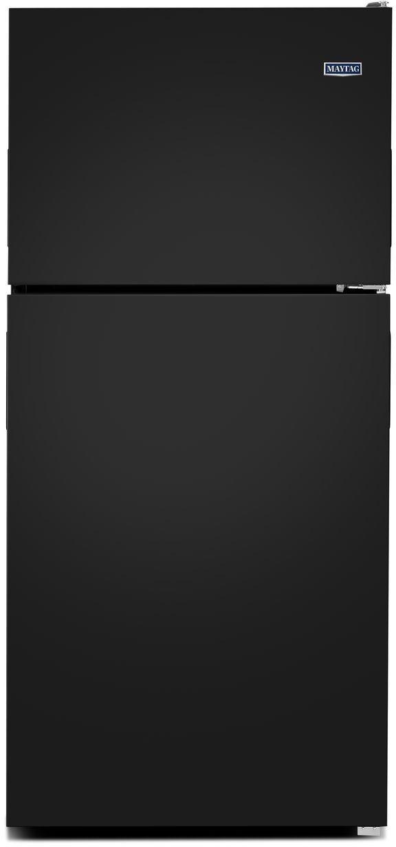 Maytag® 18.15 Cu. Ft. Black Top Freezer Refrigerator-MRT118FFFE