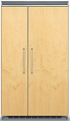 Viking® Professional Series 29.05 Cu. Ft. Built-In Side By Side Refrigerator-Panel Ready-FDSB5483