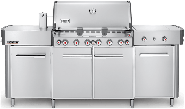 """Weber® Summit® Series 91.1"""" Stainless Steel Grill Center-292001"""