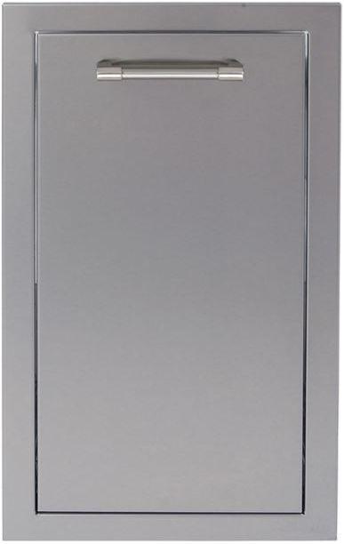 "Alfresco™ ALXE Series 15"" Trash Center Drawer-Stainless Steel-AXE-TC"