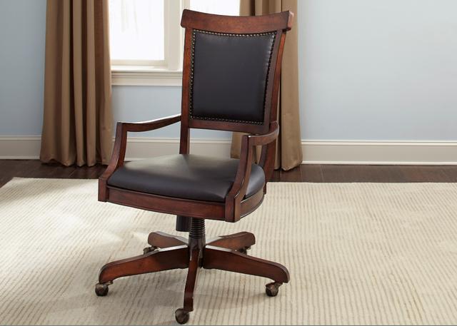 Liberty Brayton Manor Jr Executive Desk Chair-273-HO193
