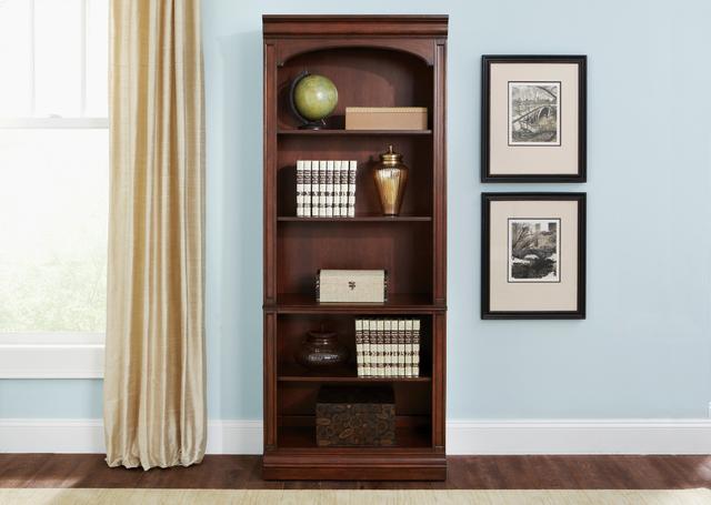 Liberty Brayton Manor Jr Executive Open Bookcase-273-HO201