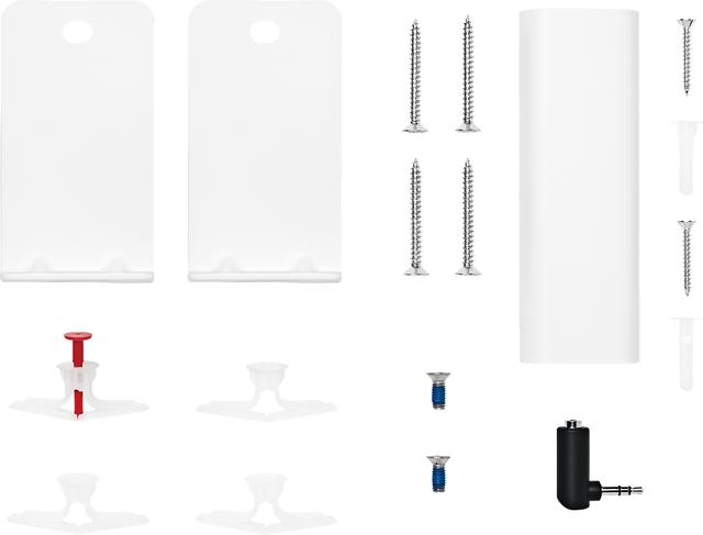 Bose® Arctic White Soundbar Wall Bracket-802171-0020