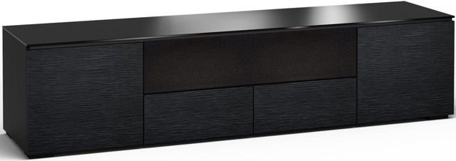 Salamander Designs® Chicago 245 AV Cabinet-Textured Black Oak-C/CH245/BO