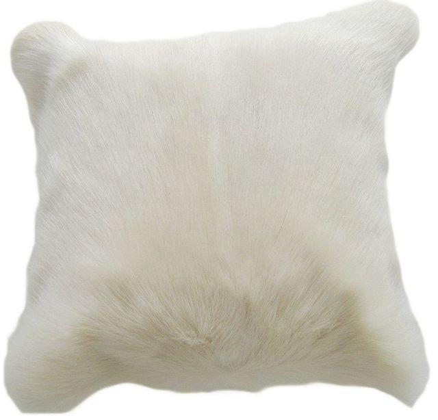 Moe's Home Collections Goat Fur Pillow-XU-1003-24