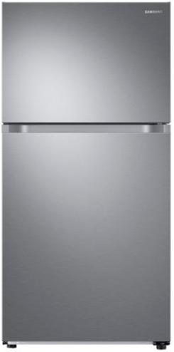 Samsung 21 Cu. Ft. Top Freezer Refrigerator-Stainless Steel-RT21M6215SR
