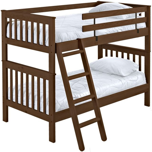 Crate Designs™ Brindle Full Over Full Mission Bunk Bed-B4707