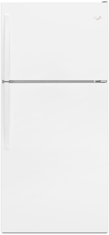 Whirlpool® 18.2 Cu. Ft. Top Freezer Refrigerator-White-WRT318FZDW