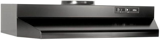 """Broan® 42000 Series 30"""" Black Under Cabinet Range Hood-423023"""