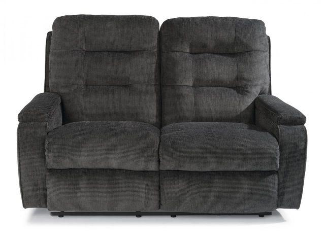 Flexsteel® Kerrie Fabric Power Reclining Loveseat-2806-60M