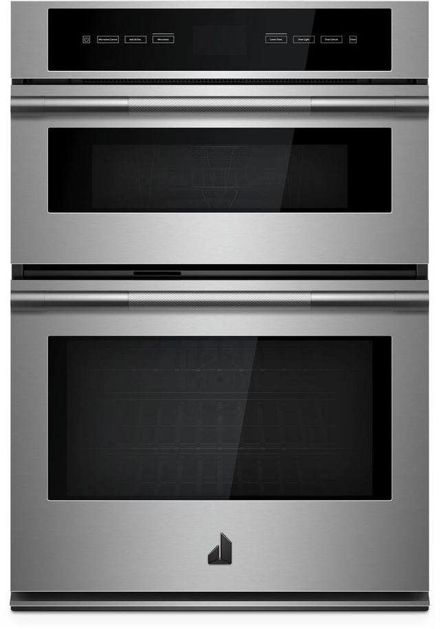 """JennAir® RISE™ 30"""" Stainless Steel Electric Oven/Micro Combo Built In-JMW3430IL"""