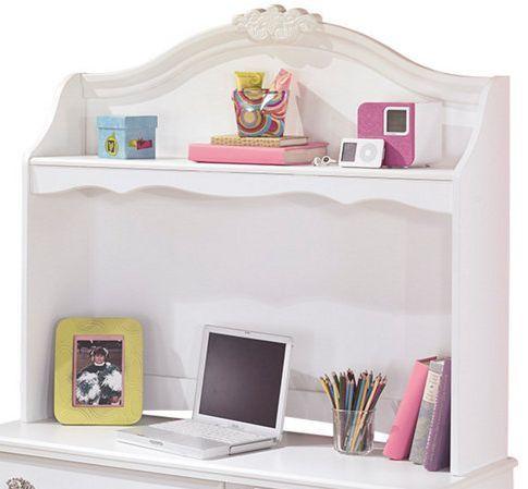 Signature Design by Ashley® Exquisite White Youth Desk Hutch-B188-23