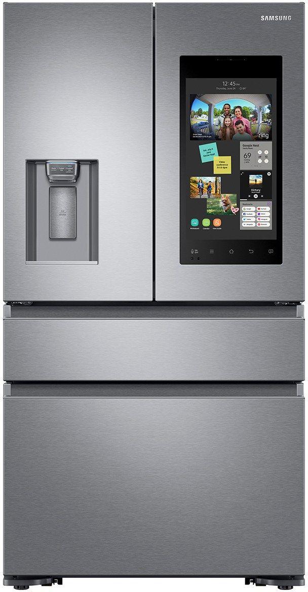 Samsung 22 Cu. Ft. Counter Depth French Door Refrigerator-Stainless Steel-RF23M8570SR