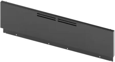 """Bosch 9"""" Black Stainless Steel Low Backguard-HEZ8YZ36UC"""