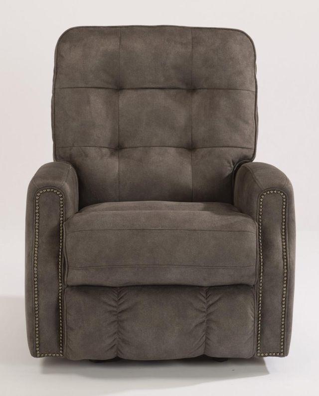 Flexsteel® Devon Fabric Recliner withNailheadTrim-2881-50