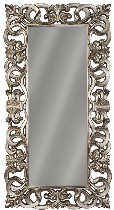 Signature Design by Ashley® Lucia Antique Silver Accent Mirror-A8010123