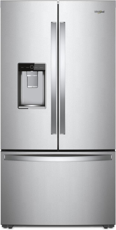 Whirlpool® 24 Cu. Ft. Wide Counter Depth French Door Refrigerator-Fingerprint Resistant Stainless Steel-WRF954CIHZ