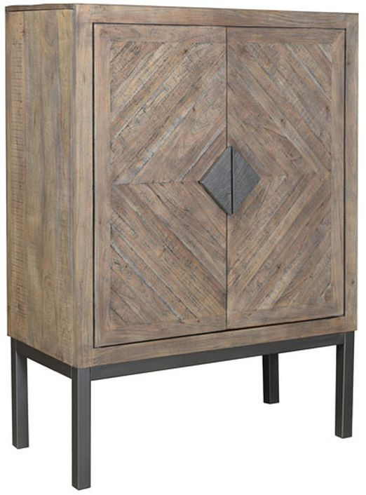 Signature Design by Ashley® Premridge Antique Gray Accent Cabinet-A4000252