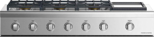 "Fisher Paykel Professional 48"" Gas Rangetop-Stainless Steel-CPV2-486GDN N-CPV2-486GDN N"