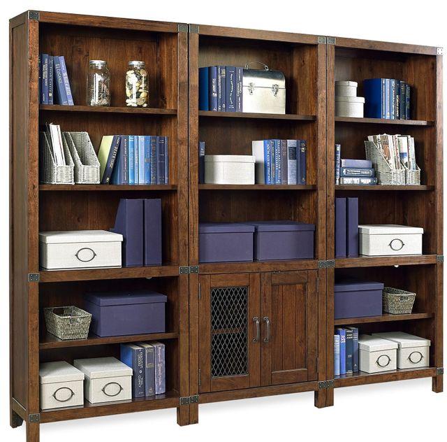 Aspenhome® Canfield Cognac Door Bookcase-ICF-332