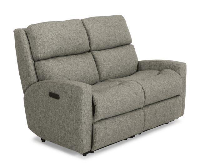 Flexsteel® Catalina Fabric PowerReclining Loveseat-2900-60H