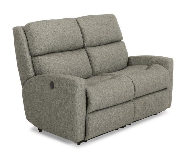 Flexsteel® Catalina Fabric Power Reclining Loveseat-2900-60M