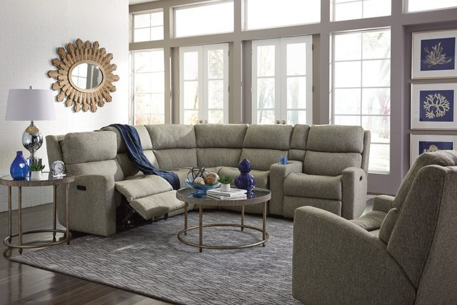 Flexsteel® Catalina Fabric Power Reclining Sectional-2900-SECTP