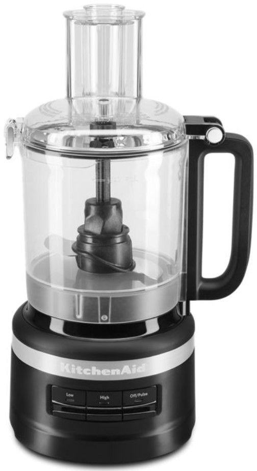 KitchenAid® 9 Cup Black Matte Food Processor-KFP0918BM