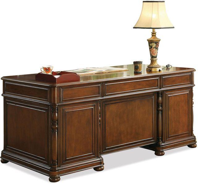 Riverside Furniture Bristol Court Executive Desk-24530